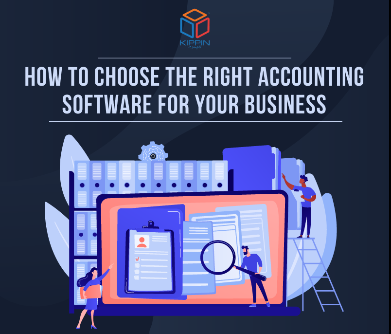 How to Choose the Right Accounting Software for Your Business – Infographics